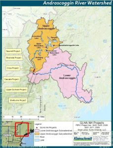 Androscoggin Watershed Map