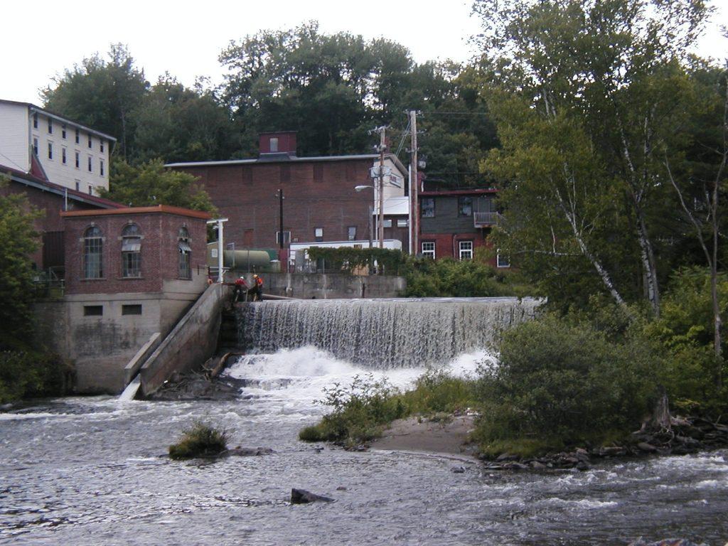 Arnold Falls powerhouse