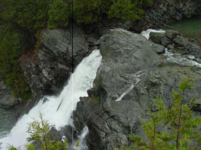 Carver Falls dam