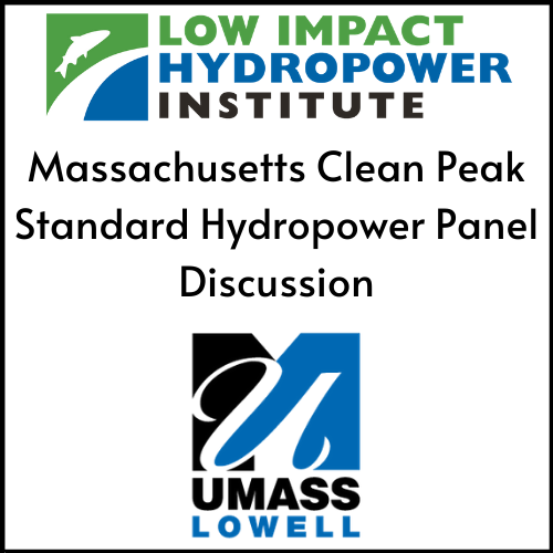 Massachusetts Clean Peak Standard Hydropower Panel Discussion (1)