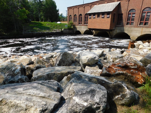 Upper Gorham Powerhouse and Tailrace